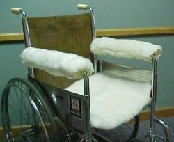 Wool Wheelchair Armrest Padding